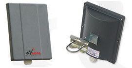 Connect Box da esterno per l'utente finale Dimensioni 18cm X 25cm X 12,5cm Fonte: www.wadsl.it - Copyright © Micso S.r.l. 2005