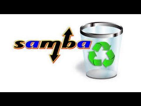 Recycle bin su Samba