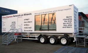 Cisco Network-Express on Wheels