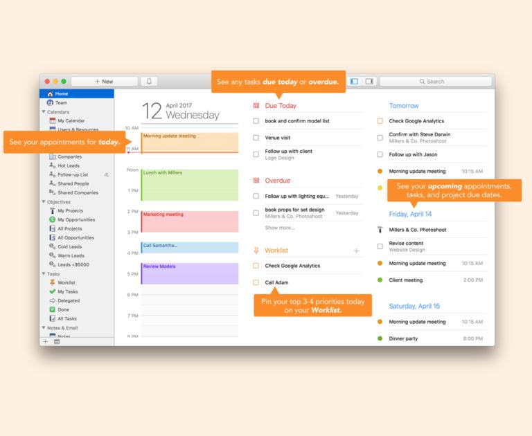 Daylite, un CRM per Macbook, iPhone ed iPad