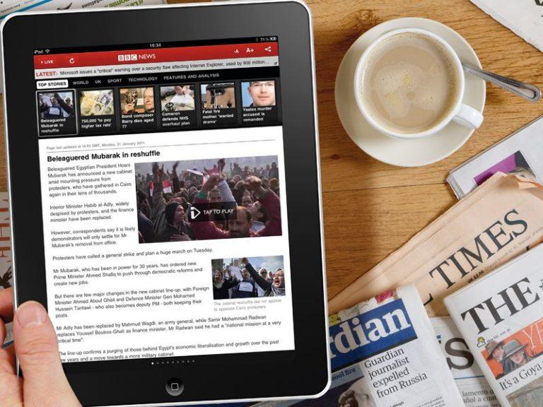 Ecco perchè l'iPad non sostituirà mai un giornale