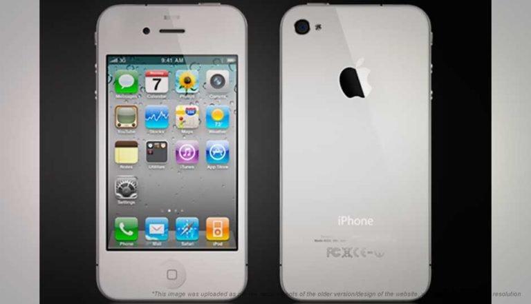 iPhone 4 bianco: ecco le prime foto