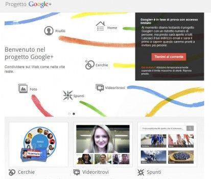 Google +, il Social Network di Google