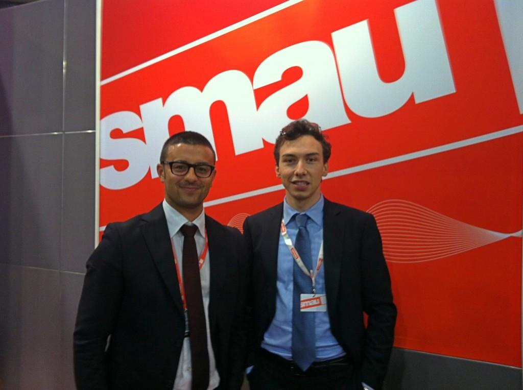 Marco Volpi di SMAU e Federico Lagni di AreaNetworking.it