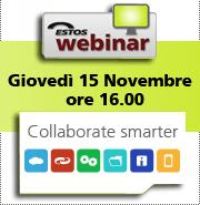 Save the Date!! ESTOS Collaborate Smarter webinar – 15 Novembre 2012