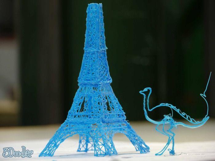 Video: la penna 3D è realtà. Largo spazio alla creatività.
