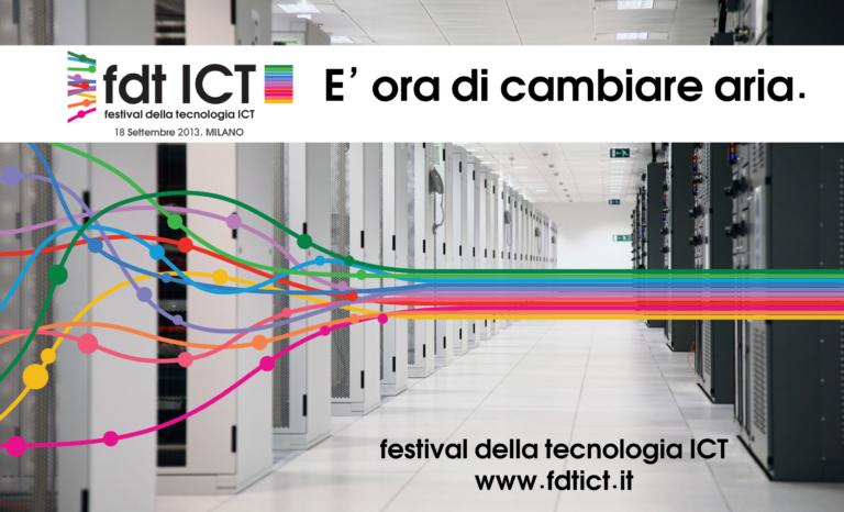 festival ICT: partner di grande prestigio patrocinano e comunicano l'evento!