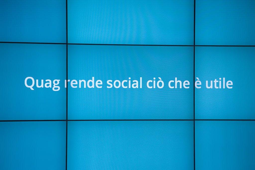Quag rende social ciò che è utile