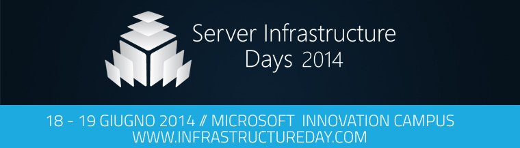 Ritorna la Server Infrastructure Days 2014