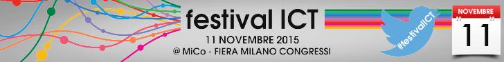 festival ICT 2015: 11 Novembre a Milano