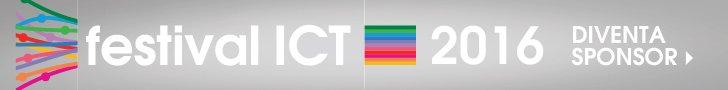 festival ICT 2016: Diventa Sponsor