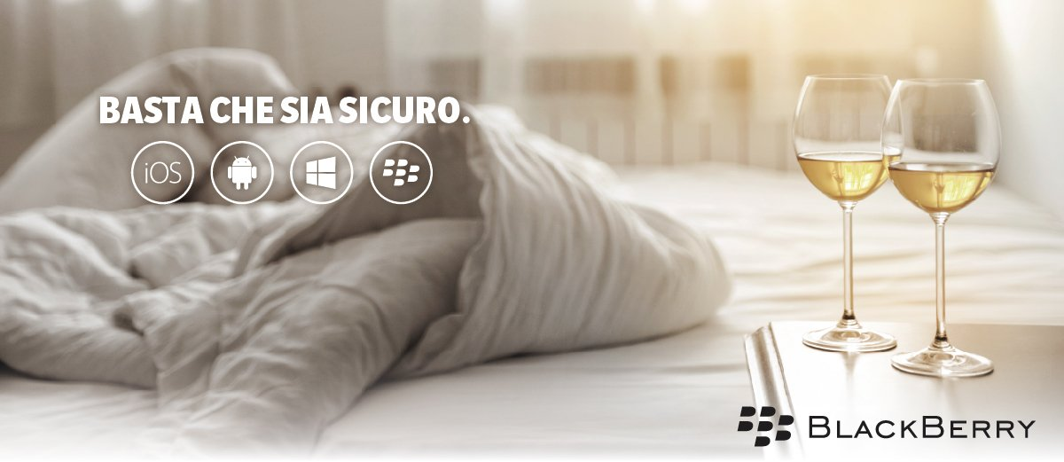 Sicurezza multipiattaforma BlackBerry