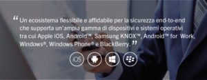 Ecosistema multipiattaforma BlackBerry