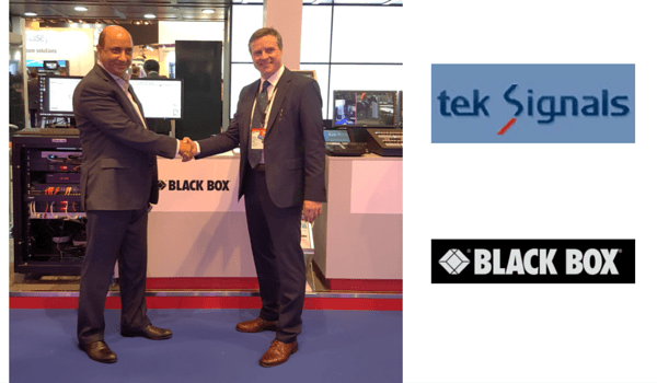 Black Box e Tek Signals partner in Medio Oriente