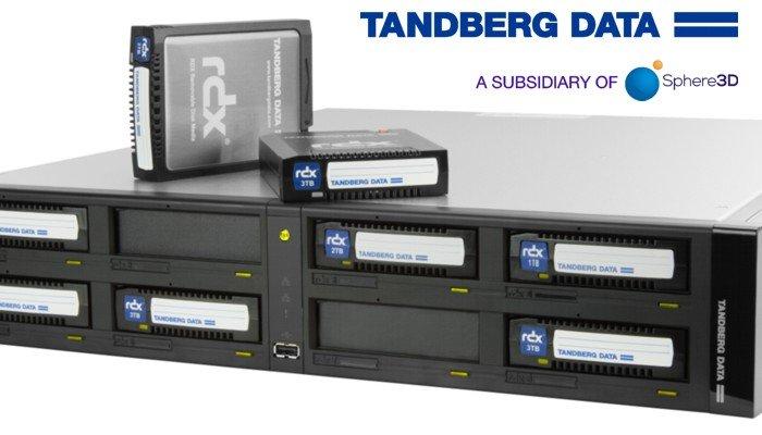 Tandberg Data presenta RDX® QuikStation™ 8: più veloce, più capienza dello storage , semplicità d'uso