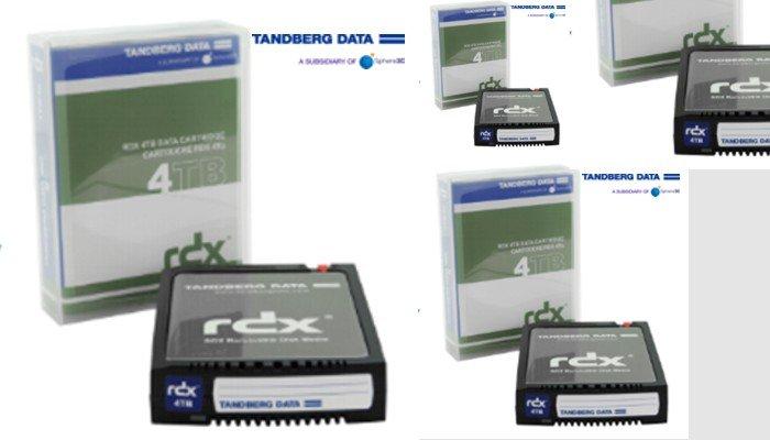 Tandberg Data annuncia le nuove cartucce RDX da 4TB, ideali per il cloud ibrido e le applicazioni che fanno uso intensivo dei dati