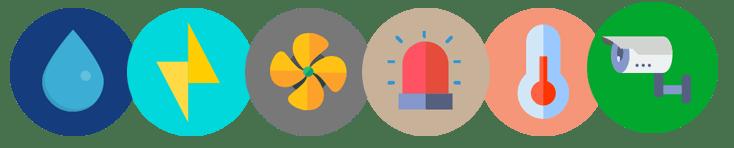 icone sensori
