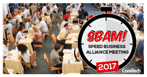 CoreTech presenta: SBAM!  – Speed Business Alliance Meeting 2017 Assago – 5  maggio 2017