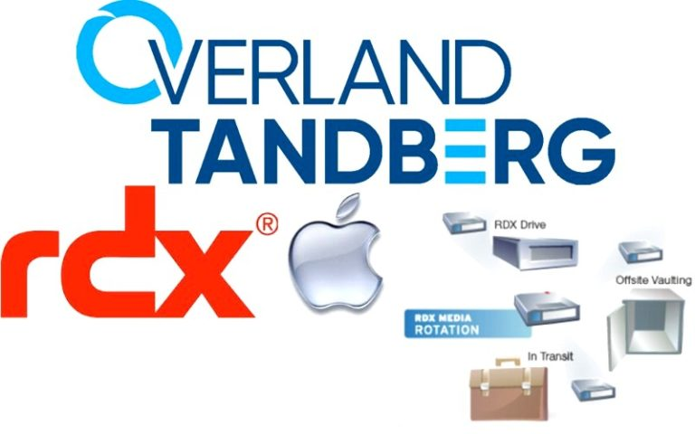 La tecnologia RDX di Overland-Tandberg ora è perfettamente integrata con lo storage professionale MAC