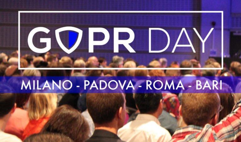 GDPR Day 2018: aperta la vendita dei biglietti