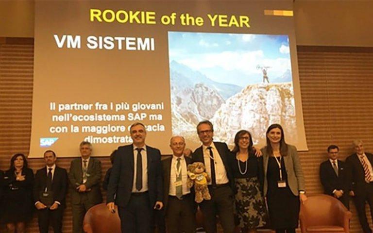 VM Sistemi premiata in occasione dei 30 anni di SAP