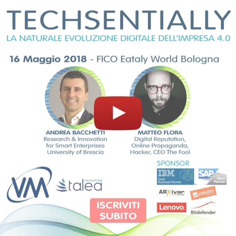 Pubblicato il programma di Techsentially – VM Sistemi