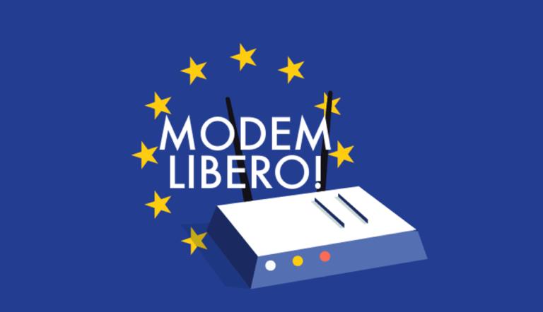 Gratis non è libero. Quando dietro la scelta del modem ci sono i diritti del cittadino.