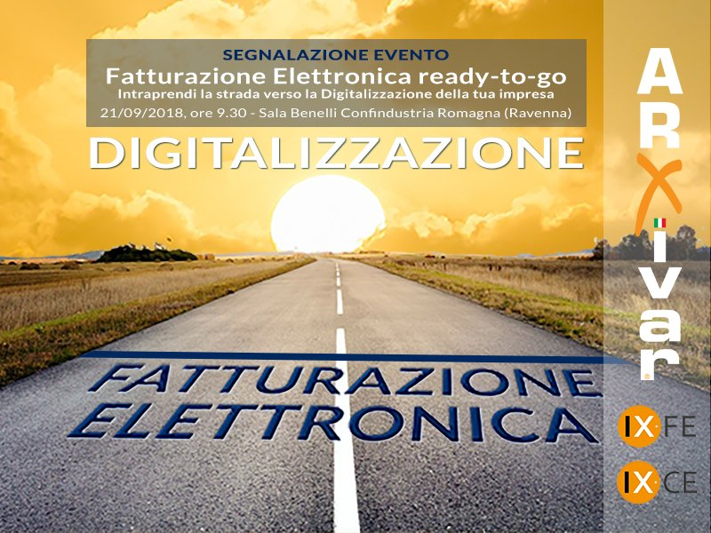 Segnalazione evento Fatturazione Elettronica Confindustria Romagna