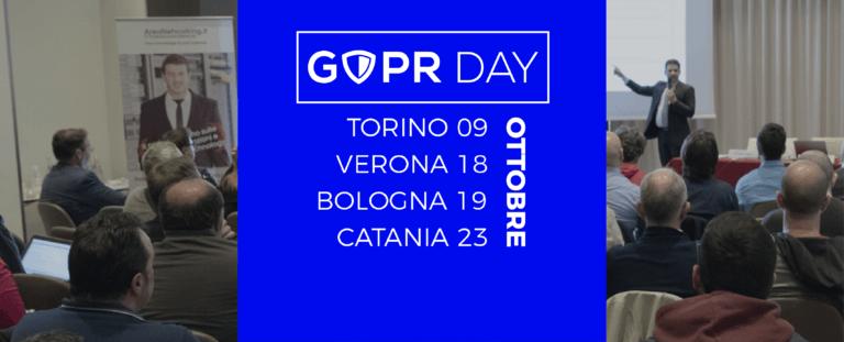 Nuova edizione del GDPR Day: un programma di eccellenza per quattro nuove città