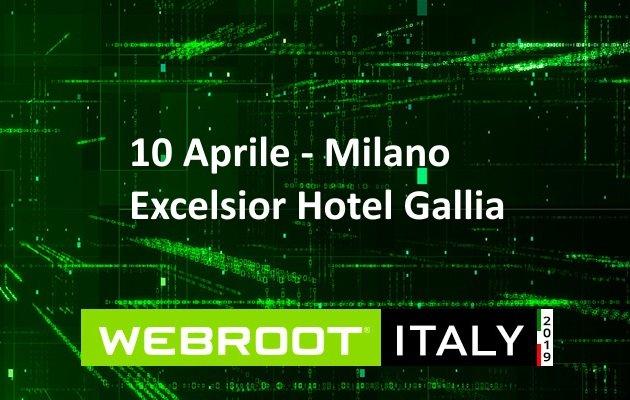 Le best practice della cybersecurity per i Managed Service Provider al centro del Webroot Italy