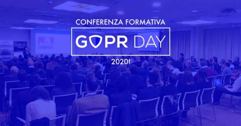 La conferenza GDPR Day 2020: un appuntamento imperdibile