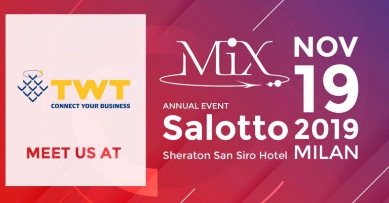 MIX Salotto 2019 con TWT