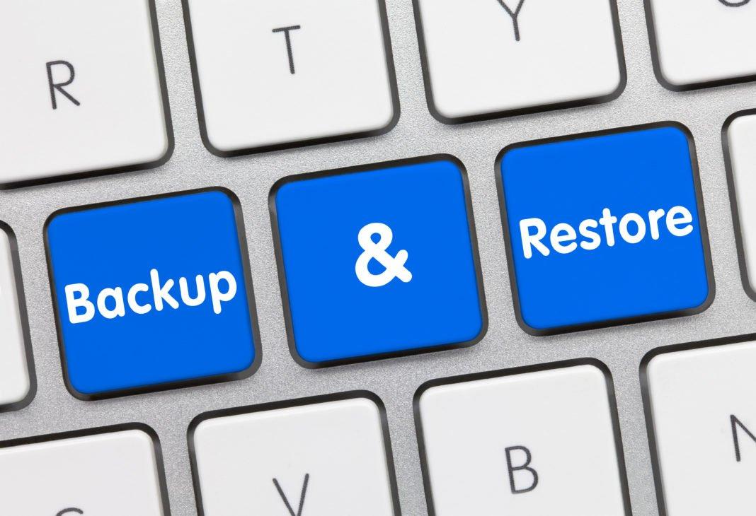 tasti pc backup e restore