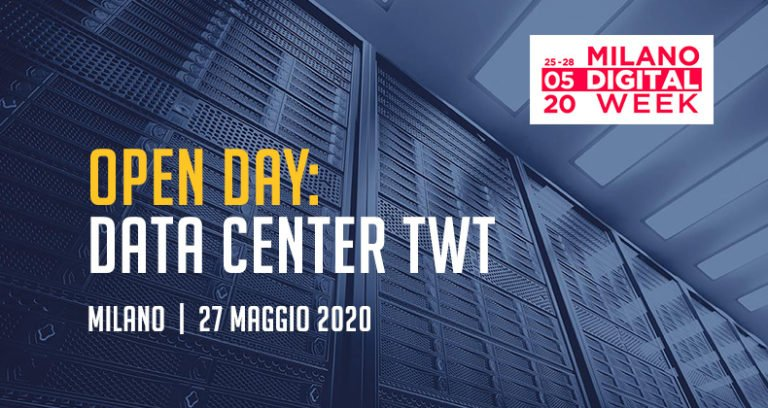 Il Data Center TWT aperto durante la Milano Digital Week [NUOVA DATA]