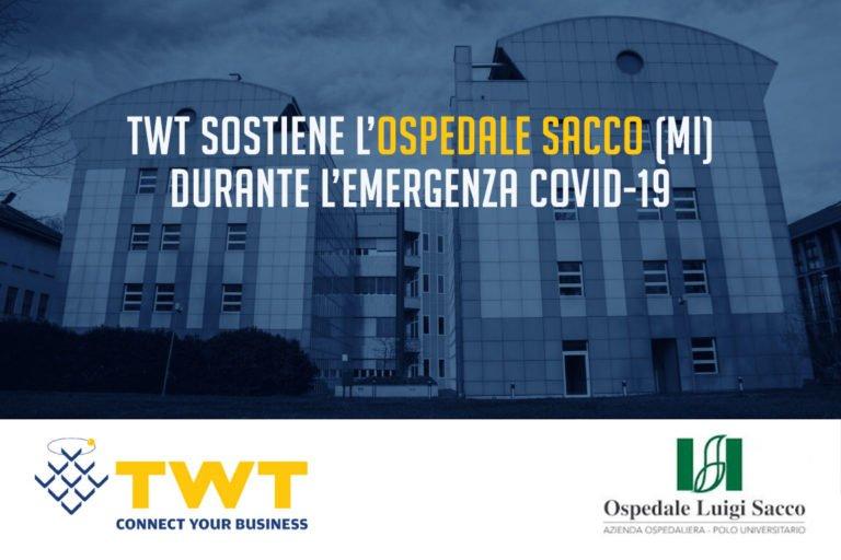 TWT al sostegno dell'Ospedale Sacco di Milano