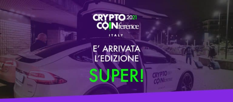 Appuntamento al 2021per Crypto Coinference