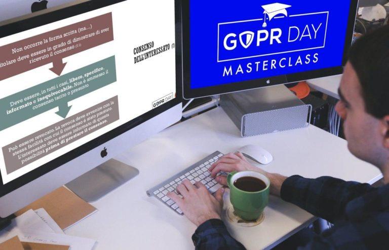 Sta per arrivare GDPR Day Masterclass