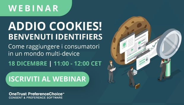 Addio Cookies! Benvenuti Identifiers!
