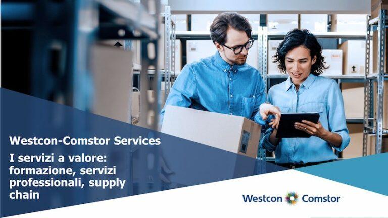 I servizi a valore: formazione, servizi professionali, supply chain