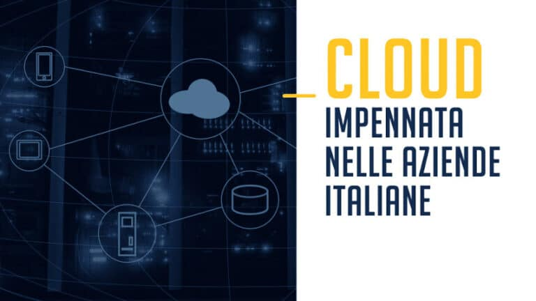Impennata del Cloud nelle aziende italiane