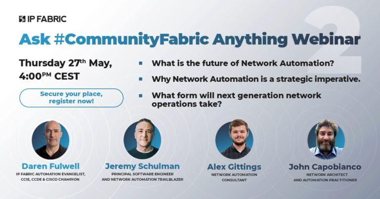 Webinar: Ask #CommunityFabric anything! seconda edizione