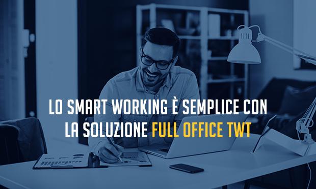 Full Office: lo Smart Working semplice di TWT